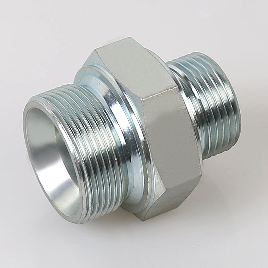 1DB METRIC MALE 24°SEAL Heavy Type/BSP MALE DOUBLE 60°SEAT BONDED SEAL tube fitting
