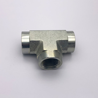 Female Pipe Tee GN Female pipe thread (all three ends) female tee fittings hydraulic adapter
