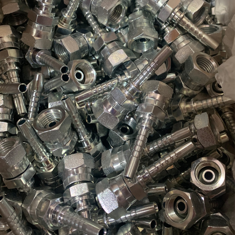 22611D BSP FEMALE60°CONE DOUBLE HEXAGON cam lock fittings
