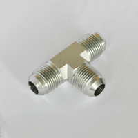 AJ JIC MALE 74 CONE TEE HYDRAULIC TEE TYPE ADAPTER